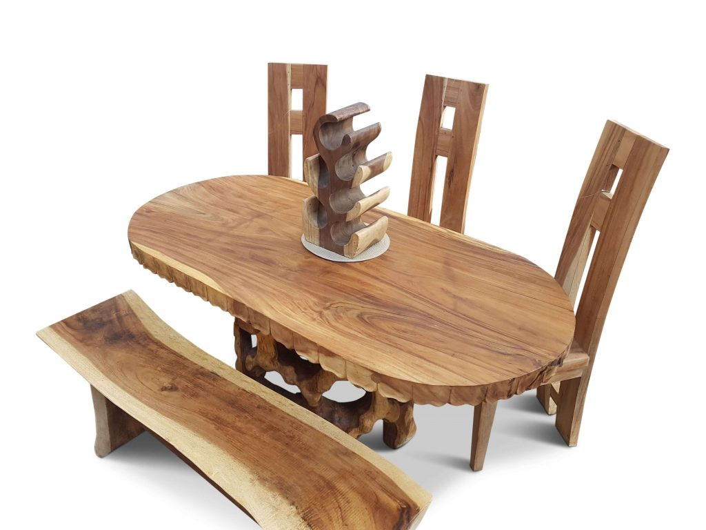 Meja Makan Trembesi Minimalis Terbaru, meja trembesi, meja makan trembesi, meja makan trembesi solid, meja makan minimalis