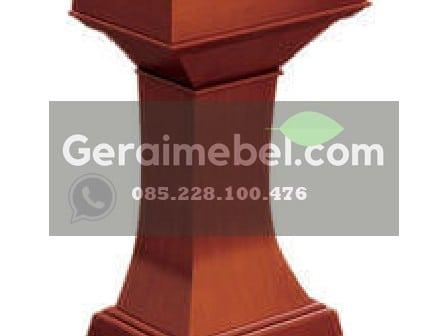 Podium Jati, Podium Jati Murah, Jual podium pidato, mimbar podium, mimbar masjid, mimbar gereja, podium gereja