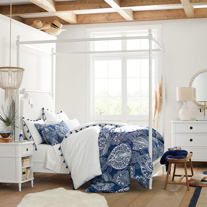 tempat tidur kanopi, jual tempat tidur kanopi, tempat tidur minmalis kanopi