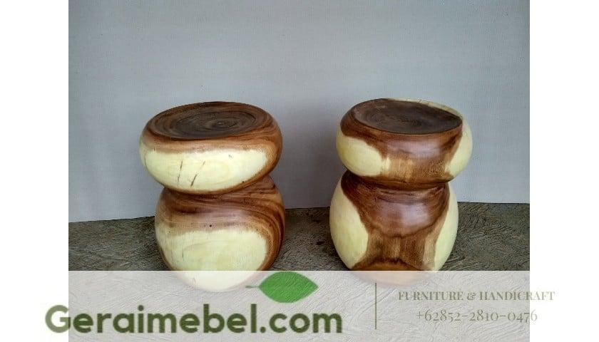 stool kayu, stool kayu trembesi, stool kayu minimalis, sttol minimalis
