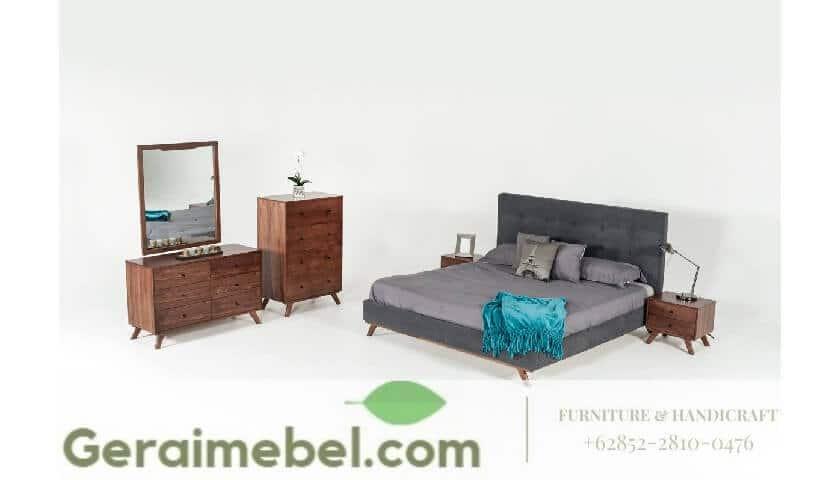 tempat tidur retro, tempat tidur minimalis retro, jual tempat tidur minimalsi retro modern