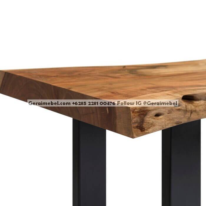 kursi kayu panjang sederhana, kursi panjang santai, kursi panjang sofa