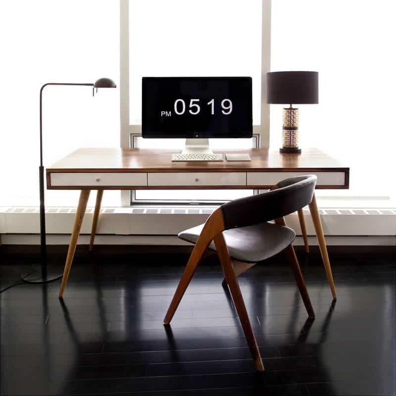 Meja Kantor Retro Modern