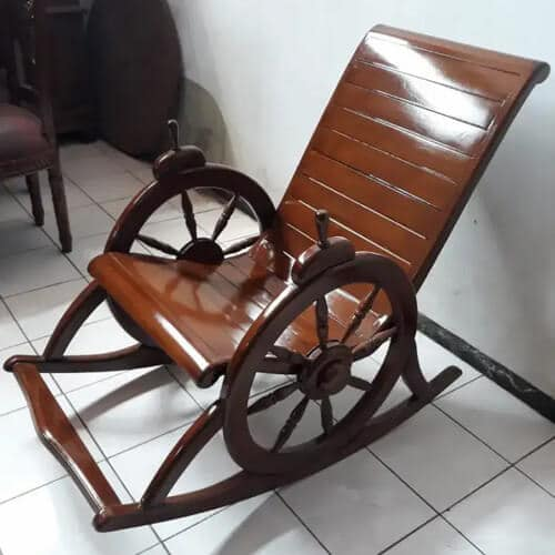 Kursi Goyang Roda