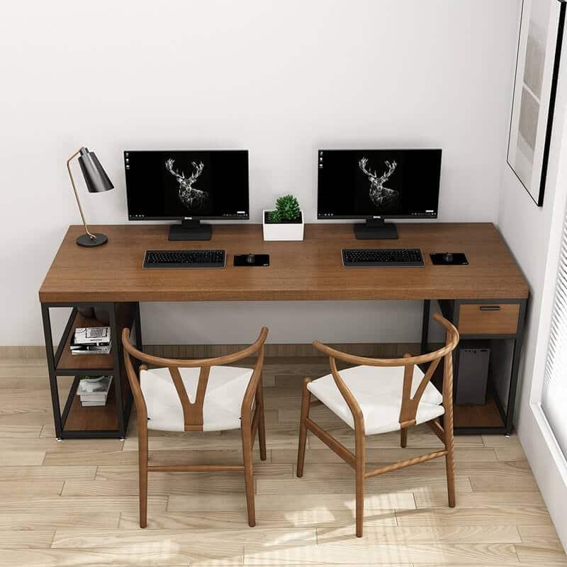 Meja Komputer Dari Besi Hollow