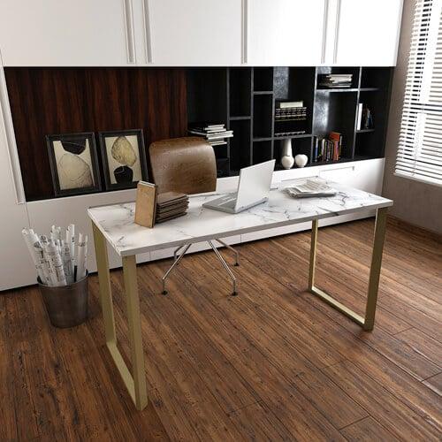 Meja Kantor Marmer Minimalis