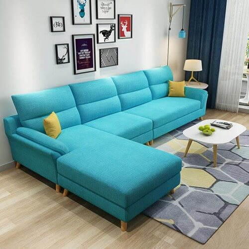 Sofa Sudut Ruang Tamu Minimalis