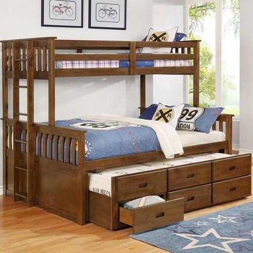 Tempat Tidur Tingkat Jati Terbaru
